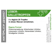 Meyer's Leber-Galletropfen